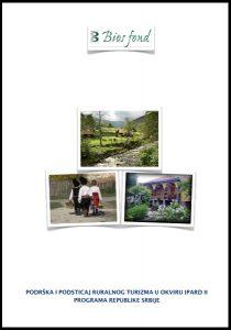 Podrška i podsticaj lokalnog turizma u okviru IPAD II programa Republike Srbije